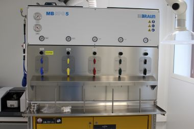 Solvent purification system - MBraun SPS-800