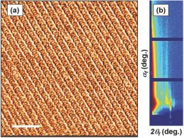 Templated Sub-100-nm-Thick Double-Gyroid Structure from Si-Containing Block Copolymer Thin Films